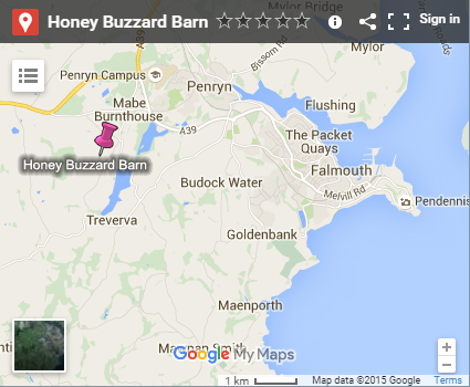 Honey Buzzard Barn - Location